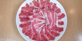 涮牛肉片(牛五花)
